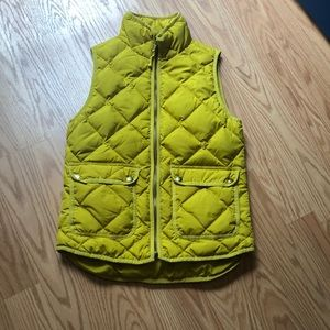 J. Crew Down Excursion Quilted Puffer Vest